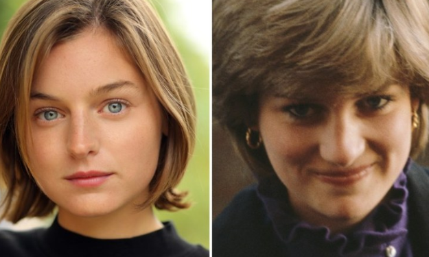 Emma Corrin To Play Lady Diana in The Crown