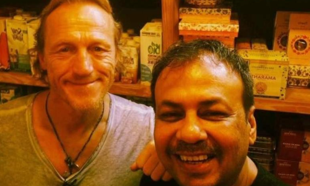 Ser Bronn of Game Of Thrones spotted in Mumbai