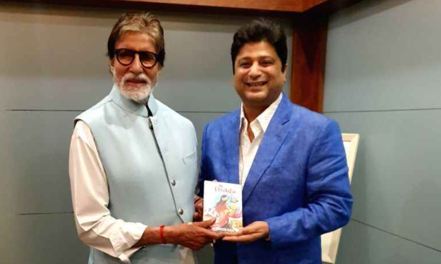 Amitabh Bachchan unveils Didda - The Warrior Queen of Kashmir