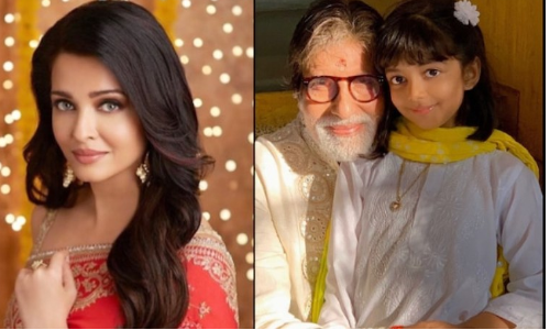Aishwarya Rai shares picture of dadaji Amitabh Bachchan with Aaradhya