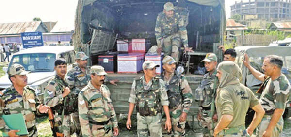 Awareness camp organized by Dogra Regiment