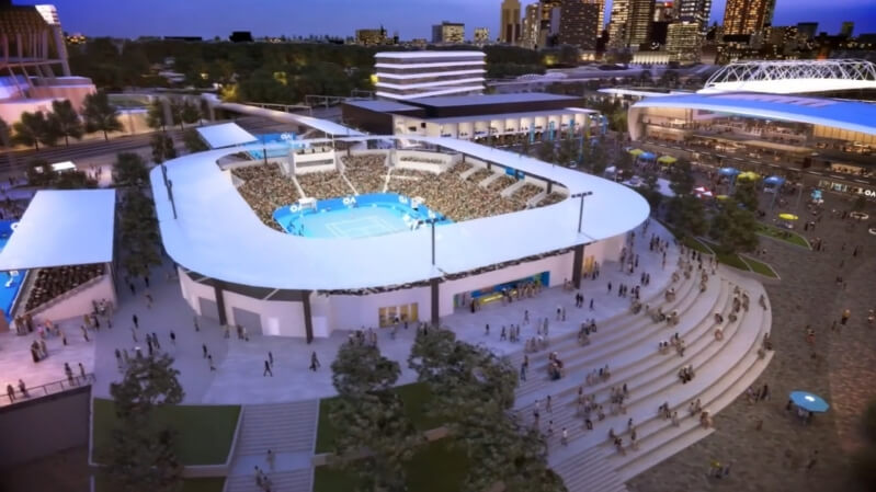 Melbourne Park set for major facelift