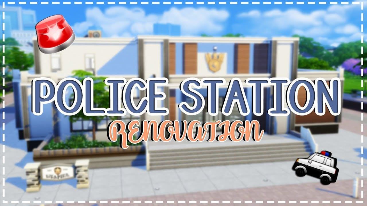 Renovate police stations