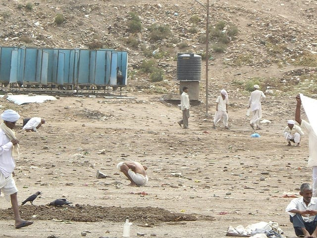 The problem of open defecation