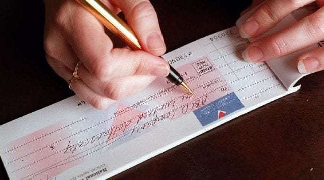 Why college principals to collect cheques?