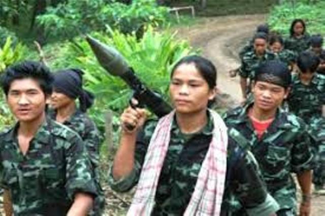 Threat of increasing militancy in Northeast India