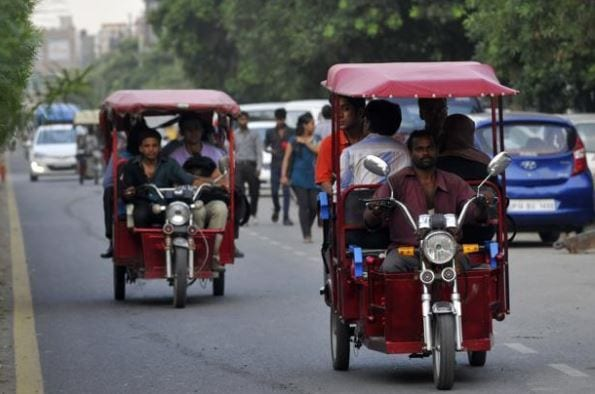 E-rikshaws
