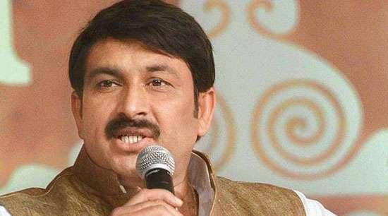 AAP MP files complaint against  BJP Delhi Chief Manoj Tiwari