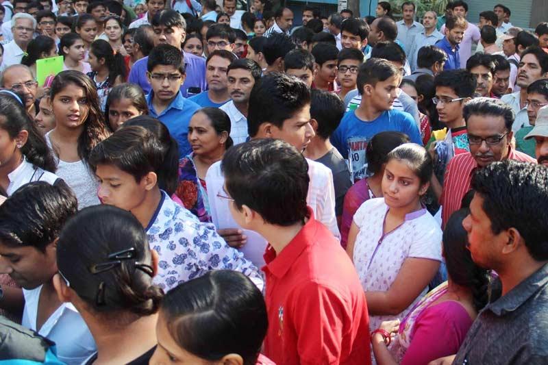 Rongali Bihu melas:  Buyers bazaar in city