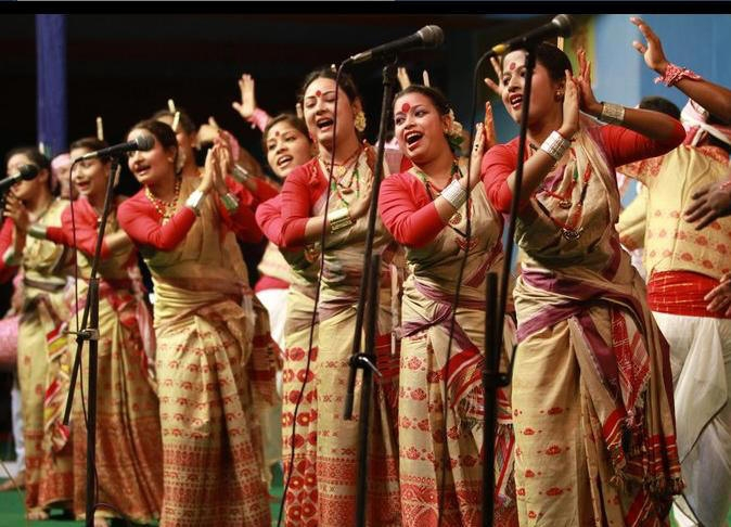 Sahitya Divas at  Assam Jatiya Bidyalay