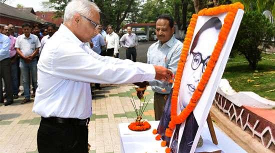NF Rly recalls Ambedkar