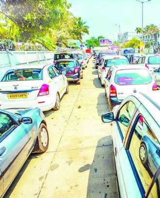 Parking-fee raaj at LGBI Airport
