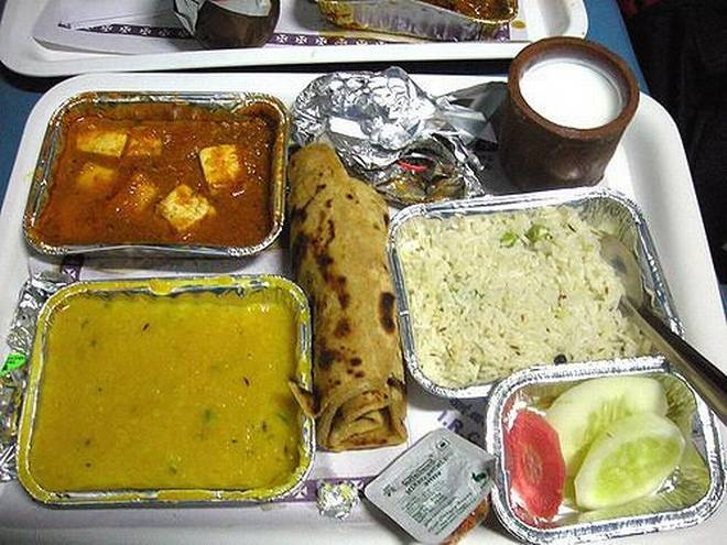 Meals of train passengers' choice