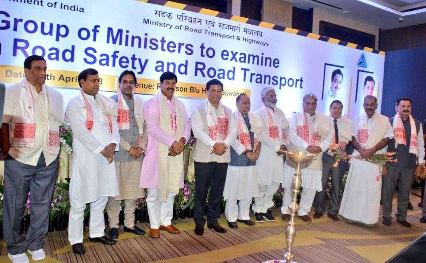 Sonowal inaugurates a meeting of the State Cabinet on road safety