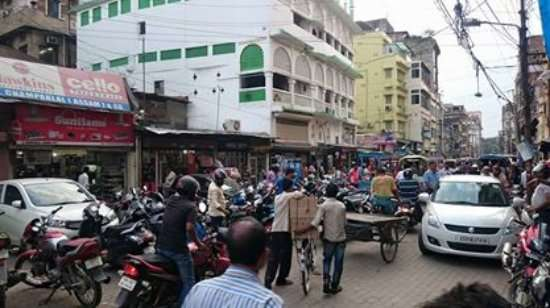 GMC eviction drive in Fancy Bazar