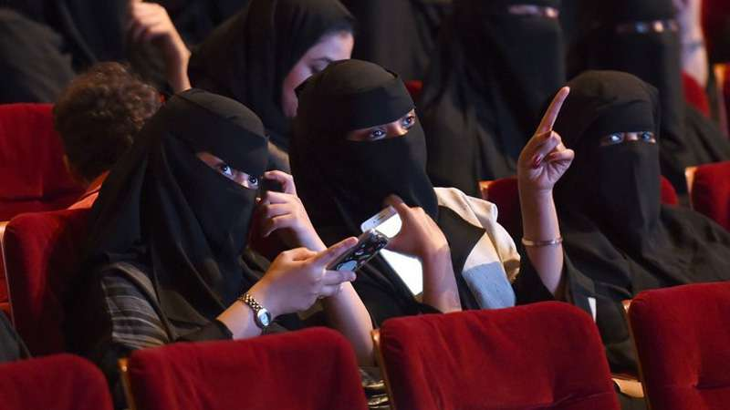 Saudi Arabia screens its first movie after 35 years of ban