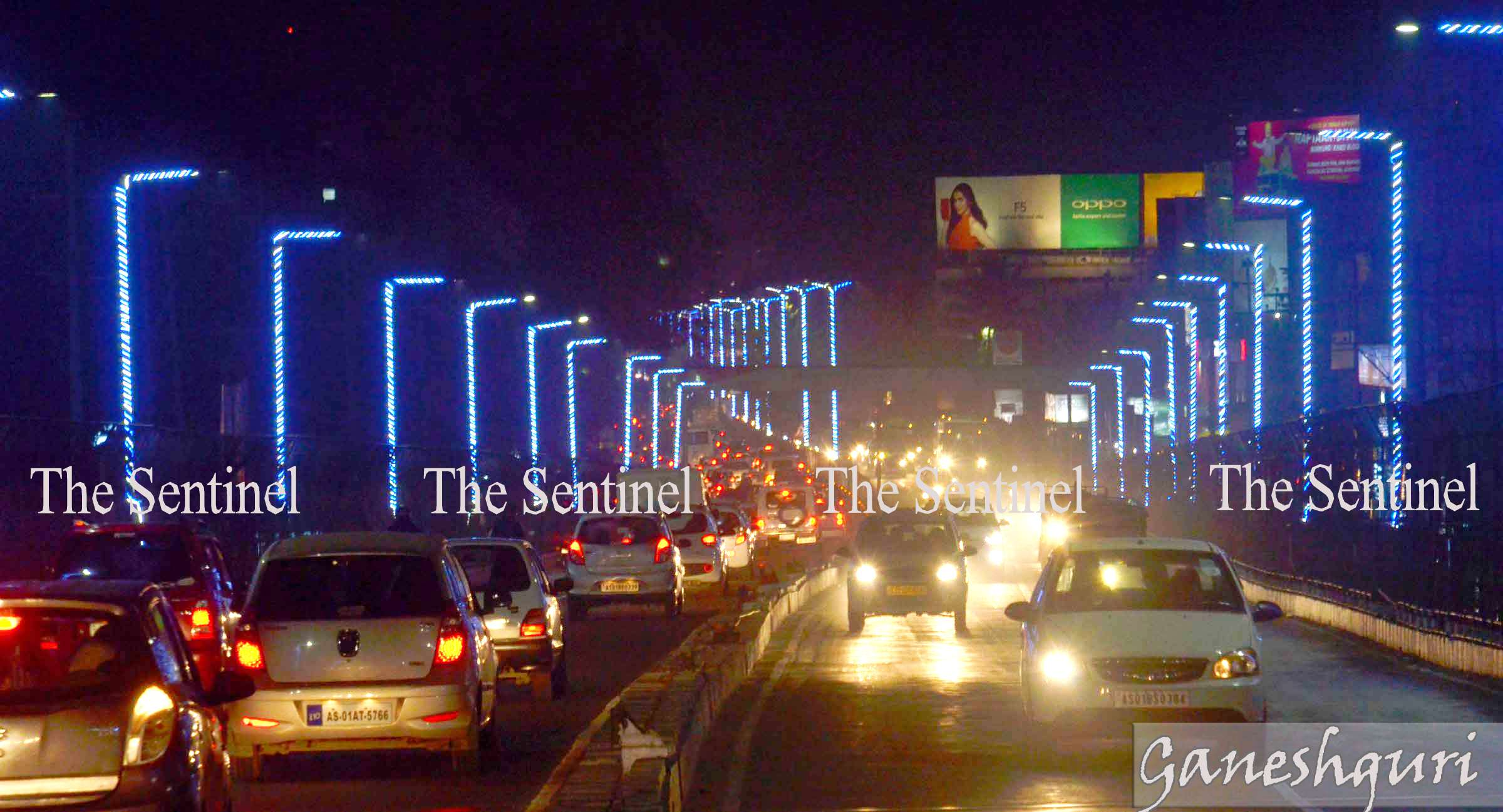 GMDA orders to remove the decorative lights in city