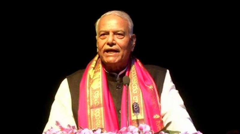 Yashwant Sinha says quitting BJP to save democracy