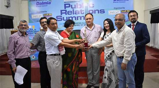 Performers awarded at PR Summit