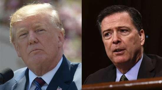 Trump accuses former FBI boss of breaking law