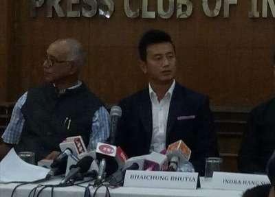 Bhaichung Bhutia launches his new political party