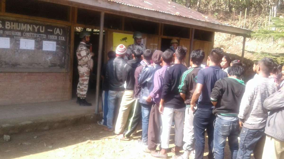 Polling in Meghalaya begins