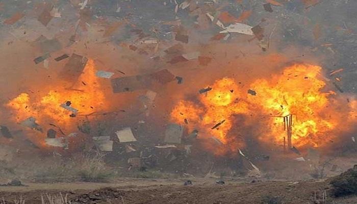 Turbine blast
