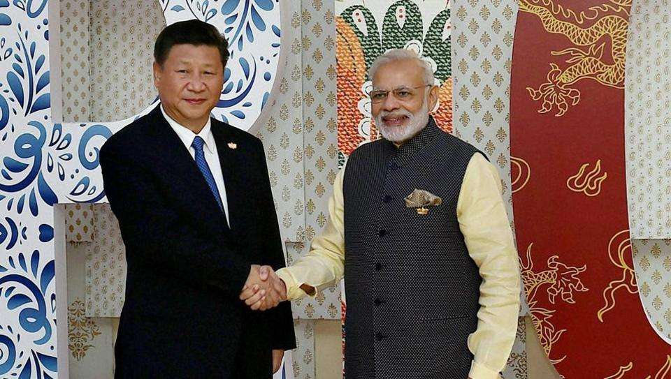 Modi on a two day visit to China