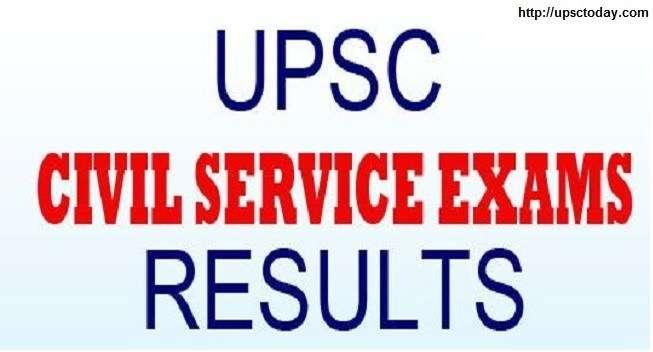 UPSC declares result