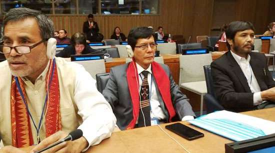 ICITP, NEIIMPCO seek protection of tribal people at UN Forum