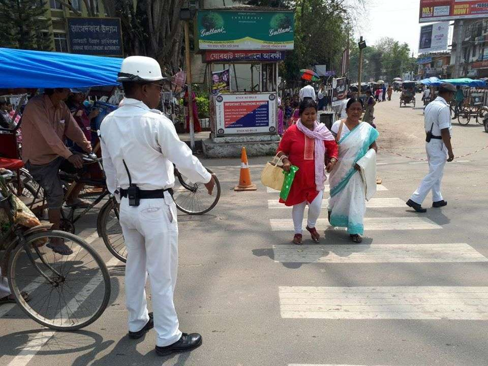Film Fraternity of Assam takes out Black March