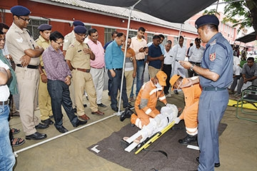 NDRF conducts mock drill