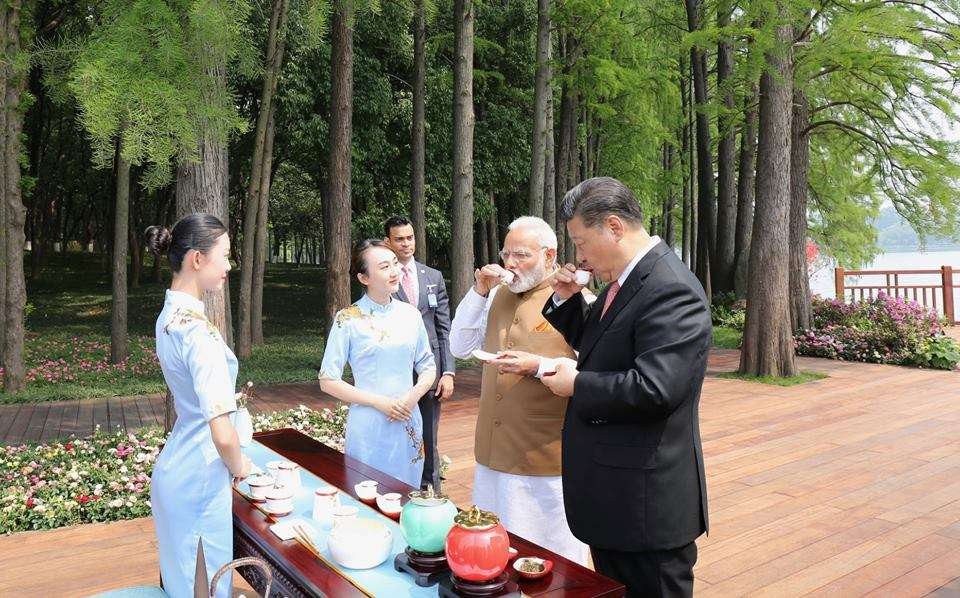 Modis discussions over tea with President Xi Jinping