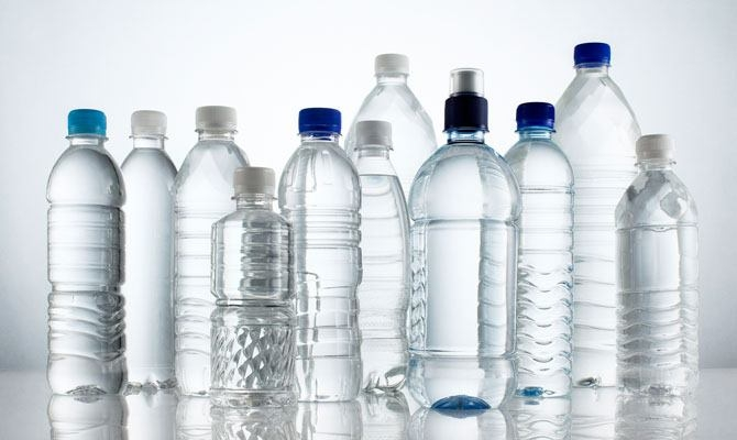 Advisory against use of bottled water in office functions