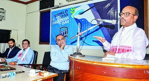 International Press  Freedom Day observed in city