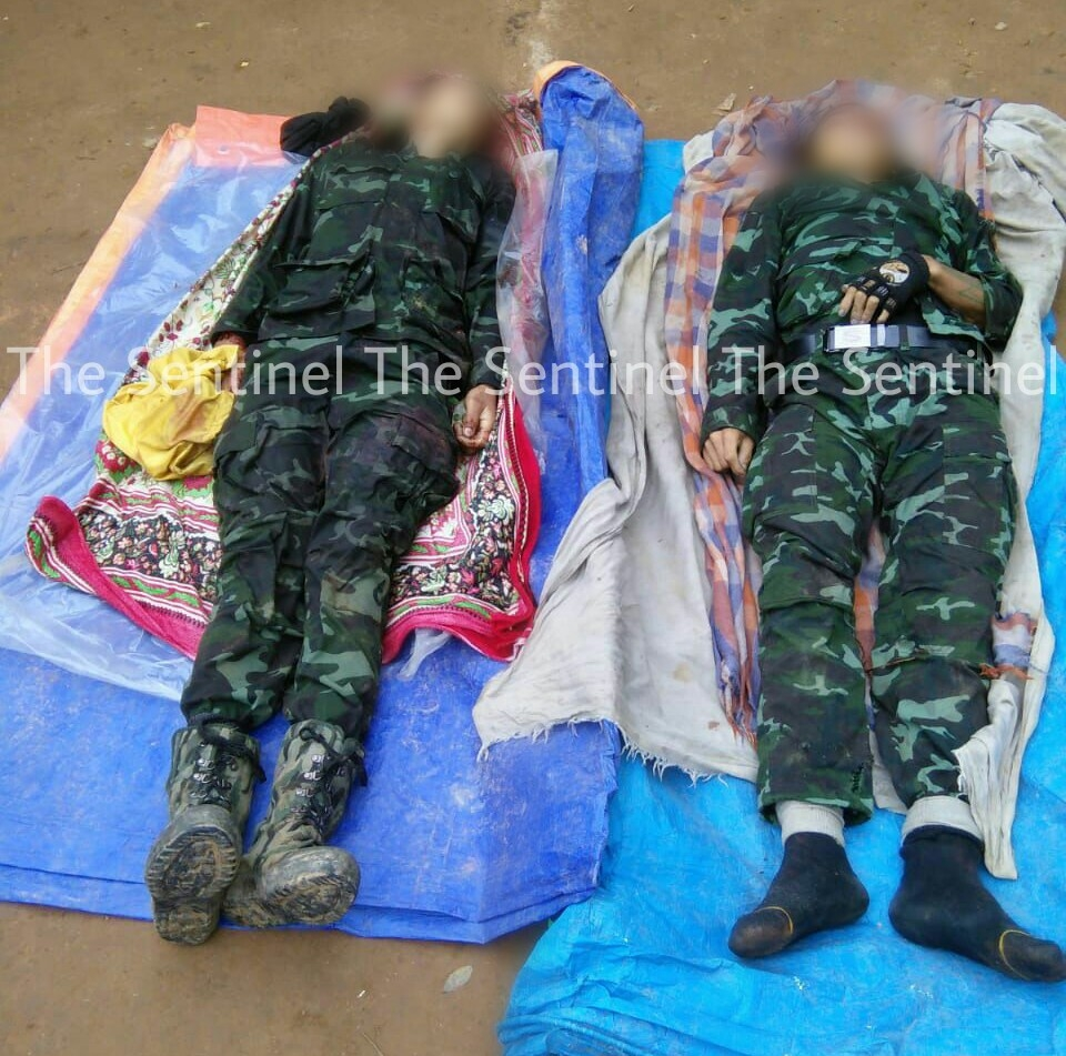 Two insurgents killed