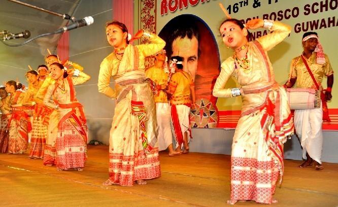 Don Bosco School celebrates  Rongali Utsav