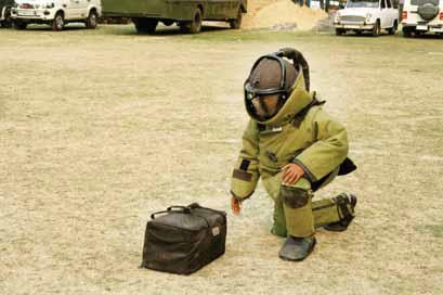 Two IEDs  diffused