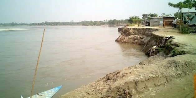 50 bighas of agricultural land eroded