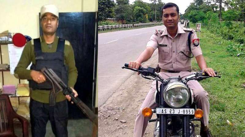 Did the bulletproof jacket fail to save Bordumsa OC Bhaskar Kalita?