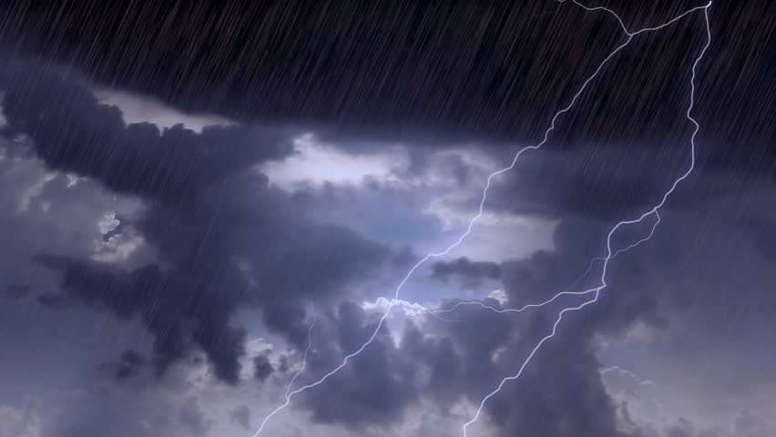 Rain and thunderstorm, over the next 5 days in Northeast India