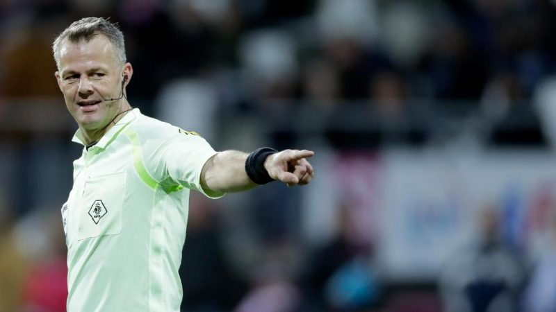 Bjorn Kuipers to referee Europa League final