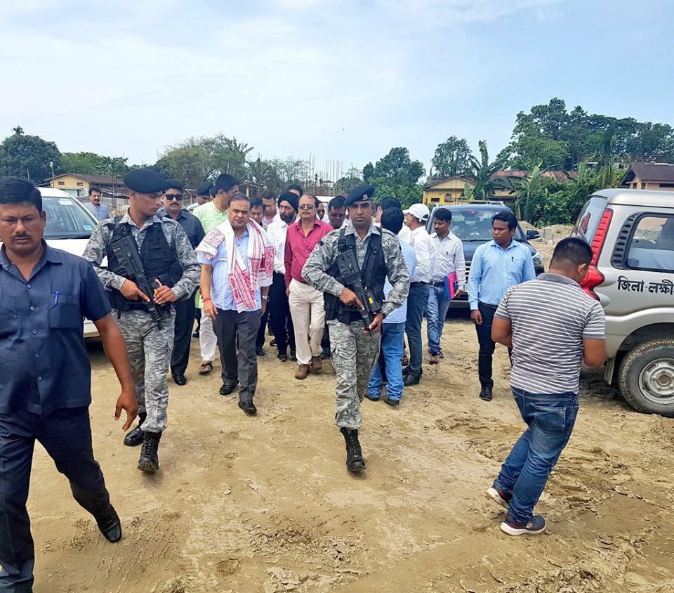 Health Minister Sarma visits Lakhimpur