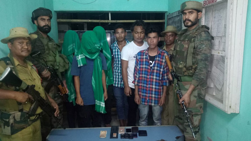 Six youths intending to join NDFB (S) nabbed