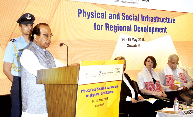 Governor advocates social and physical infrastructure for regional development
