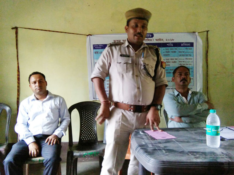Action against illegal liquor consumption