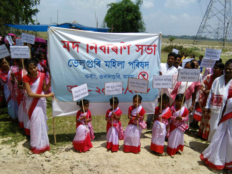 Adivasi women join hands to fight against alcoholism