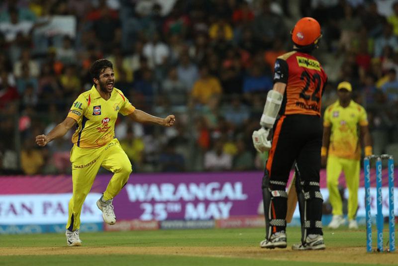 Chennai beat Hyderabad to enter final