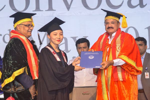 M Venkaiah Naidu Quite +Ve About NE