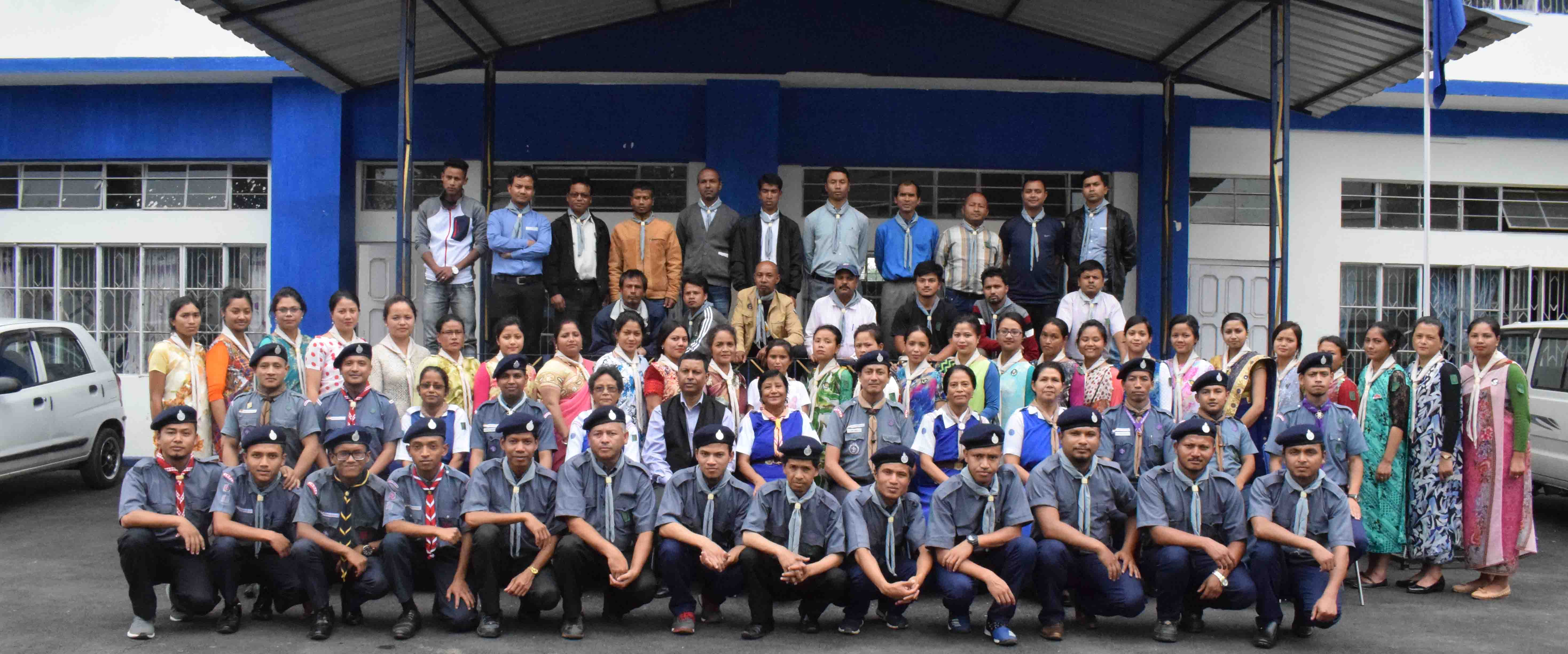 Trainingfor scouts  & guides ends